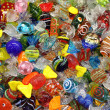 Venetian Murano glass sweets - ストック写真