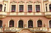 Renaissance palace in Prague — Stock Photo