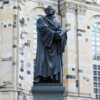 Martin Luther statue - Stock Photo