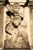 Centaur statue — Stock Photo