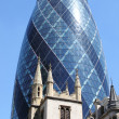 The Gherkin building in London — Stock Photo