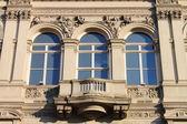 Renaissance windows — Stock Photo