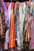 Hanging scarves — Foto de Stock