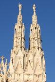 Gotische torentjes — Stockfoto