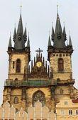 ティーンの前に聖母教会 — ストック写真