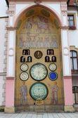 Astronomical clock of Olomouc — Stock Photo