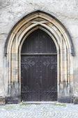 中世の正面玄関 — ストック写真