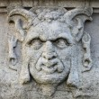 Satyr mask basrelief — Foto Stock