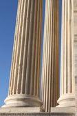 Columnas romanas de mármol — Foto de Stock