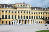 Facade of Schonbrunn Palace — Stock Photo