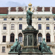 Emperor Franz I statue — Stock Photo #6706704
