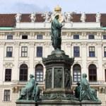 Emperor Franz I statue — Stock Photo