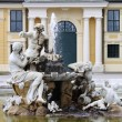 Fountain in Schonbrunn palace — Stock Photo