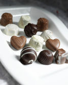Assorted Chocolates Candy — Stock Photo