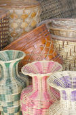 Rattan Basket — Stock Photo