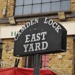 Camden Town - Sign — Stock Photo