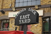 Camden Town - Sign — Stock Photo
