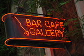 Cafe Gallery — Stock Photo