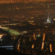 Turin night landscape from Superga — Stock Photo