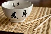 Chinese bowl — Stock Photo