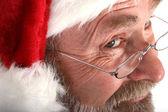 Santa Close up — Stock Photo
