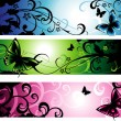 Summer banners — Stock Vector #6293710