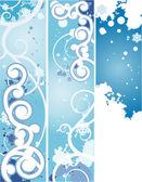 Winter banner — Stock Vector