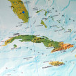 Cuba Map — Stock Photo #6299135