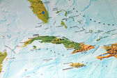 Cuba Map — Stock Photo