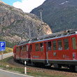 Bernina Express — Stock Photo