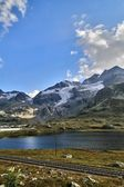 Alps & clouds — Stockfoto