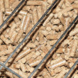 Stock Photo: Pellet energy