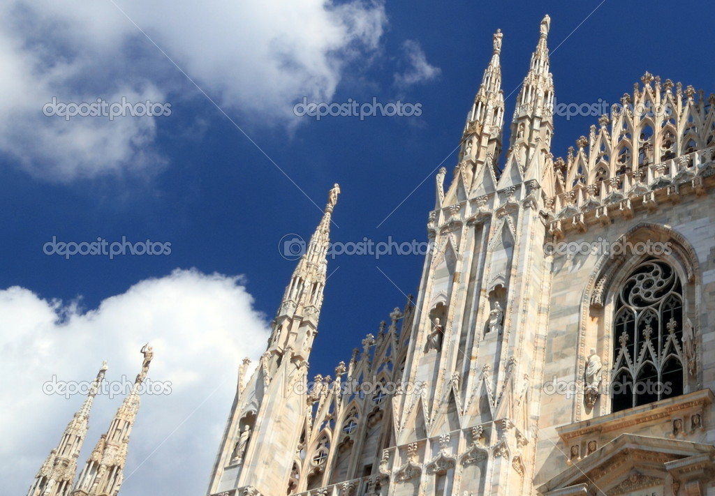 Duomo of Milan  Stock Photo #6707116