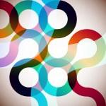 Rainbow Circles — Stock Vector #6297368