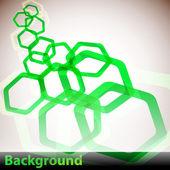 Hexagon Background — Stock Vector