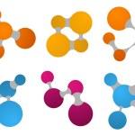 Set of Abstract Logos — Stock Vector #6438694