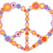 Royalty-Free Stock Vector Image: Hippie Heart
