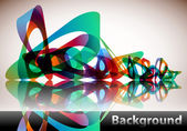Abstract Background — Vetorial Stock