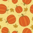 Thanksgiving seamless pattern. — Stock Vector