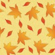 Autumn seamless pattern. — Stock Vector