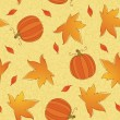 Thanksgiving seamless pattern — Stock Vector
