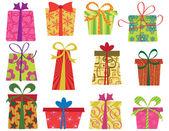 Fun gifts — Stock Vector