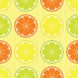 Citrus seamless pattern — Stock Vector