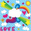 Royalty-Free Stock Vector Image: Love is in the air!
