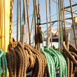 Rope on ship — Stockfoto #6305508