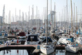A beautiful marina in Barcelona — Stok fotoğraf