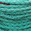 Stock Photo: Green Ropes