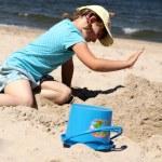Fun on the beach — Stock Photo #6368812