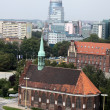 Church of Sts. And St. Peter. Paul in Szczecin - Stockfoto