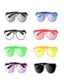 Colorful sunglasses — Stock Vector